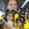 Bortsprungen VM-hund har setts till efter ett år