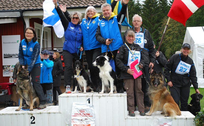 Svensk dominans i Nordiskt Mästerskap