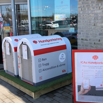 Luftkonditionerad hundparkering i Ystad
