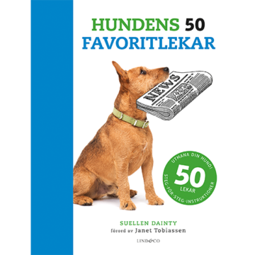Boktips!  Hundens 50 favoritlekar