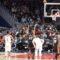 Covidhundar godkänner publik på basketmatch