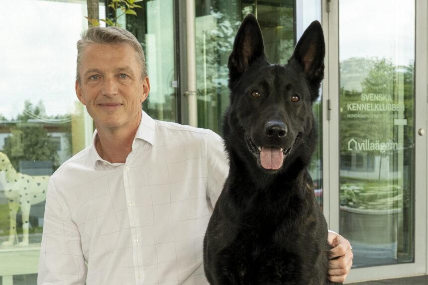 Kees de Jong ny vd för Svenska Kennelklubben